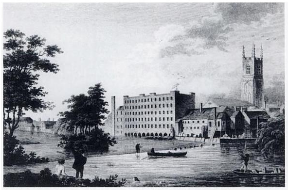 Textilfabrik in Derby